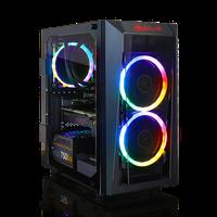 CLX SET SCRIBE Gaming Desktop with Intel Hex Core i7-9700K / 16GB / 1TB HDD & 480GB SSD / Win 10 / 8GB Video