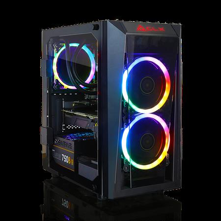 Panzer Gaming Set - CLX SET SCRIBE GAMING Intel Core i7 9700K, NVIDIA GeForce RTX 2080 8GB GDDR6, 16GB DDR4 Memory, 480GB SSD + 1TB HDD Storage MS Windows 10 Home