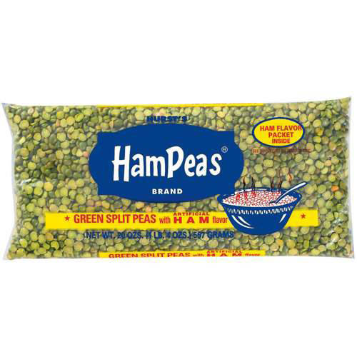 Hurst's HamPeas Green Split Peas HamPeas w/Ham Flavor, 20 oz