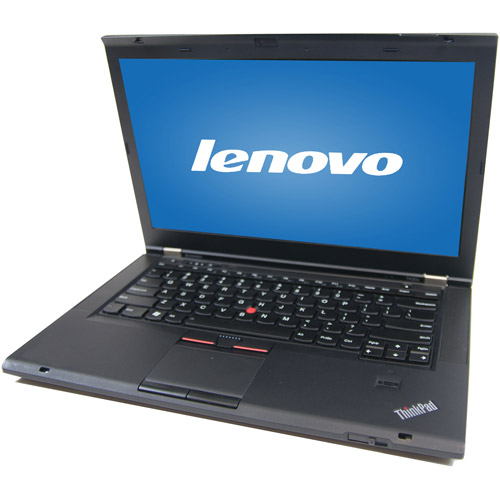 "Refurbished Lenovo Black 14.1"" T430S Laptop PC with Intel Core i5 Processor, 8GB Memory, 128GB SSD and Windows 7 Professional"
