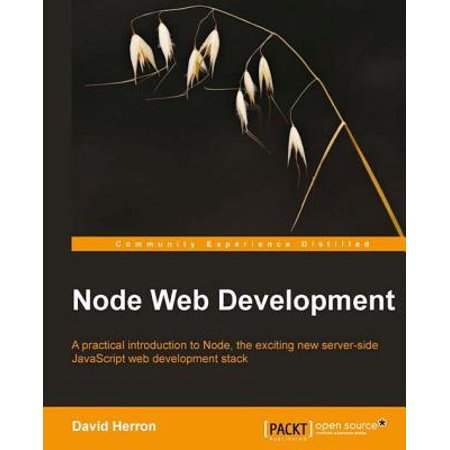 Node Web Development - eBook