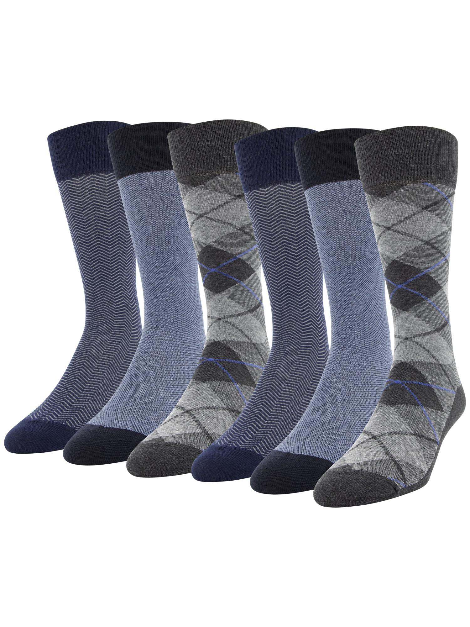 9 12 pairs non elastic diabetic socks Work  Size 4-7 Ladies Argyle print 3 6
