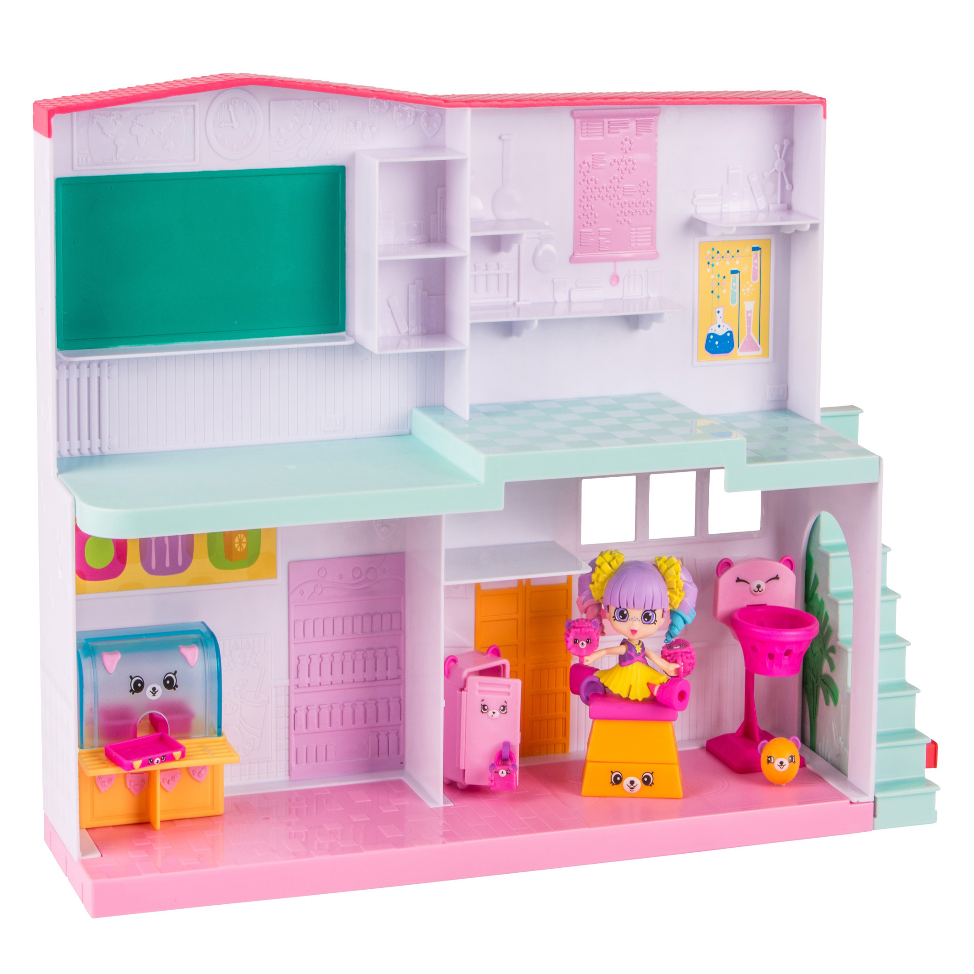 License 2 Play - Shopkins Happy Places Happyville High School Playset
