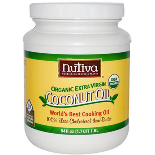 Nutiva Virgin Coconut Oil Organic Superfood, 54 fl oz