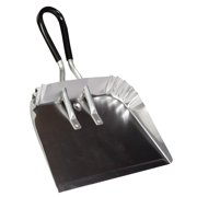 "DQB Industries 17"" Metal Dust Pan with Soft Grip Handle by Dust Pans"