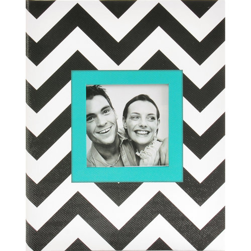 Pinnacle Frames and Accents 2Up Chevron Photo Album