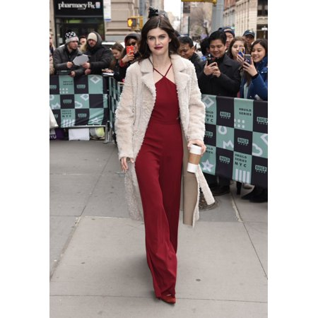 Alexandra Daddario Seen At Build Studios To Promote Her New Netflix Film When We First Met Out And About For Celebrity Candids - Mon  New York Ny January 29 2018 Photo By Derek StormEverett Collection