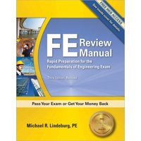 FE Review Manual (Edition 3) (Paperback)