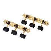Alice AOS-020B3P 1 Pair Gold-Plated 3 Machine Head Classical Guitar String Tuning Keys Pegs
