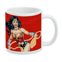Wonder Woman Character White Mug