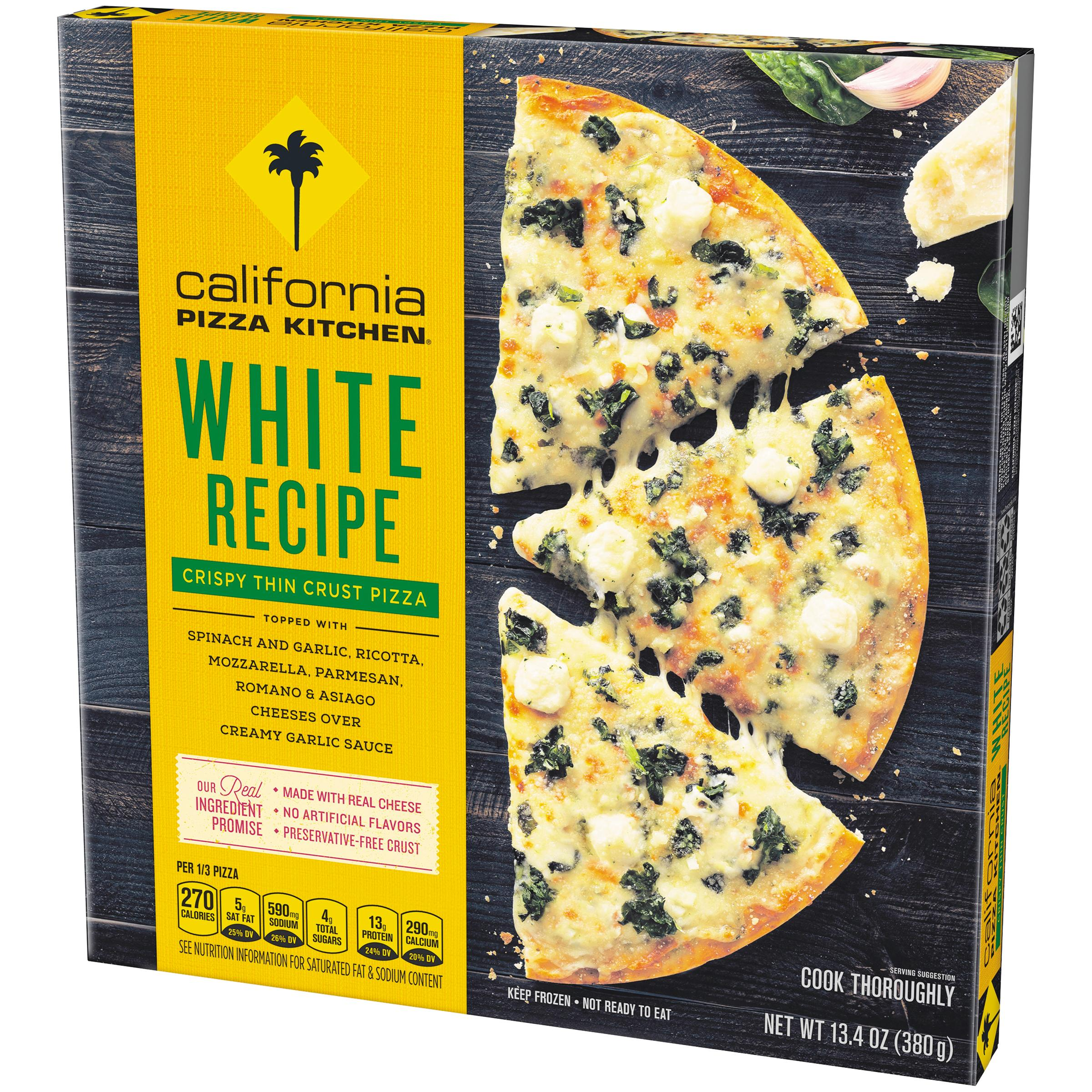 California Pizza Kitchen Frozen Nutrition Facts