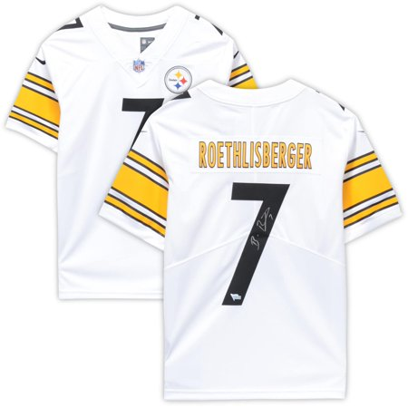 Ben Roethlisberger Authentic Jersey - Ben Roethlisberger Pittsburgh Steelers Autographed White Limited Jersey - Fanatics Authentic Certified