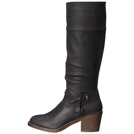 d2e913e6a357 XOXO - Womens MARISA Square Toe Mid-Calf Western Boots - Walmart.com
