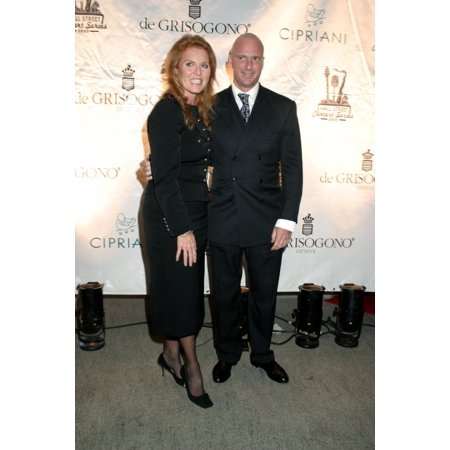 Sarah Ferguson Guiseppe Cipriani Inside For Wall Street Concert Series At CiprianiS With Marc Anthony Cipriani Restaurant Downtown Wall Street New York Ny September 15 2005 Photo By Rob RichEverett