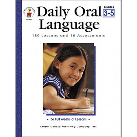 Daily Oral Language, Grades 3 - 5 : 180 Lessons and 18 Assessments](Halloween Oral Language Lessons)