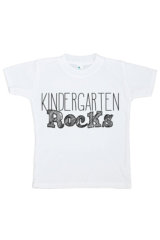 Custom Party Shop Kids Kindergarten Rocks T-shirt - 5T T-shirt