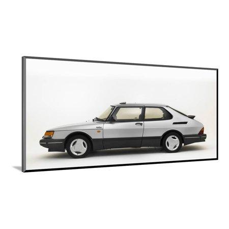 1988 Saab 900 Turbo Wood Mounted Print Wall Art (900 Wall)