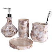 Creative Scents Milano 4-Piece Bathroom Accessory Set