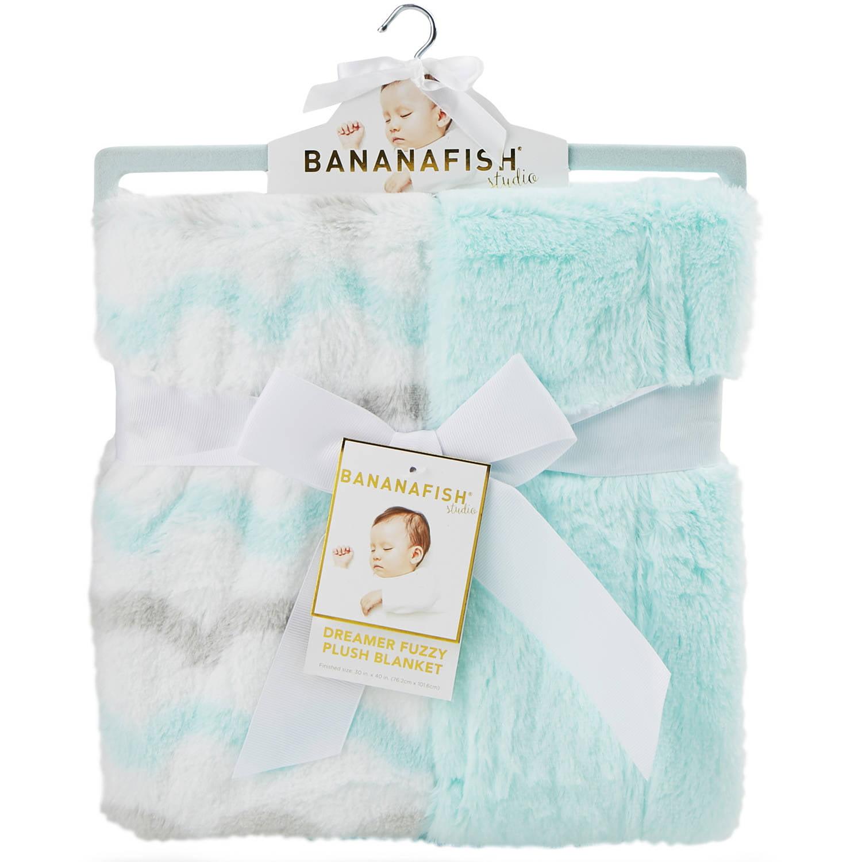 Bananafish Studio Neutral Fuzzy Baby Blanket Walmart Com Walmart Com