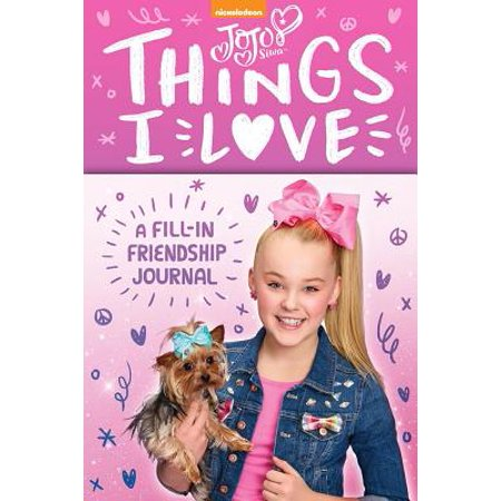 JoJo Siwa: Things I Love : A Fill-In Friendship Book - Iparty Application