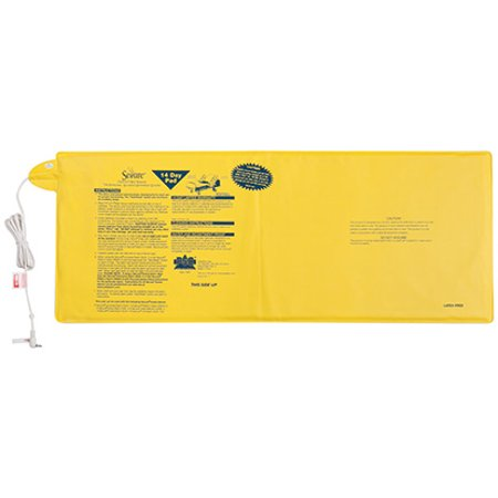"""Secure 12"""" x 30"""" Bed Sensor Pad, Yellow - For Use With All Secure Alarm"""
