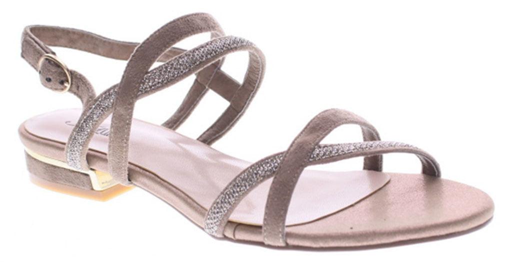 Azura Women's DURSLEY Taupe Sandals 36 M EU 5.5-6 M
