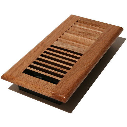 Decor Grates Louver Wood Floor Register