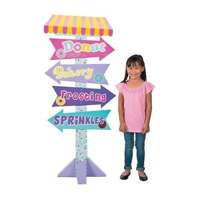 IN-13759610 Donut Party Directional Sign