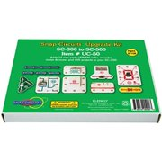 Snap Circuits UC-50 Electronics Exploration Upgrade Kit | SC-300 to SC-500 | Upgrade Classic to Pro