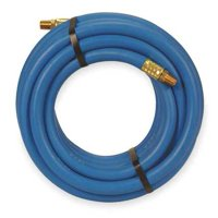 """GRAINGER APPROVED 3/8"""" ID x 25 ft PVC Coupled Air Hose 300 PSI BL, 1ABT6"""
