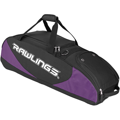 Rawlings Player Preferred Wheeled Bag Purple PPWB