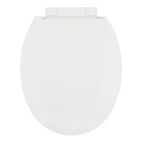 Heavy Duty Residential Luxury Model White Centoco 1700SC-001 Elongated Plastic Toilet Seat with Safety Close