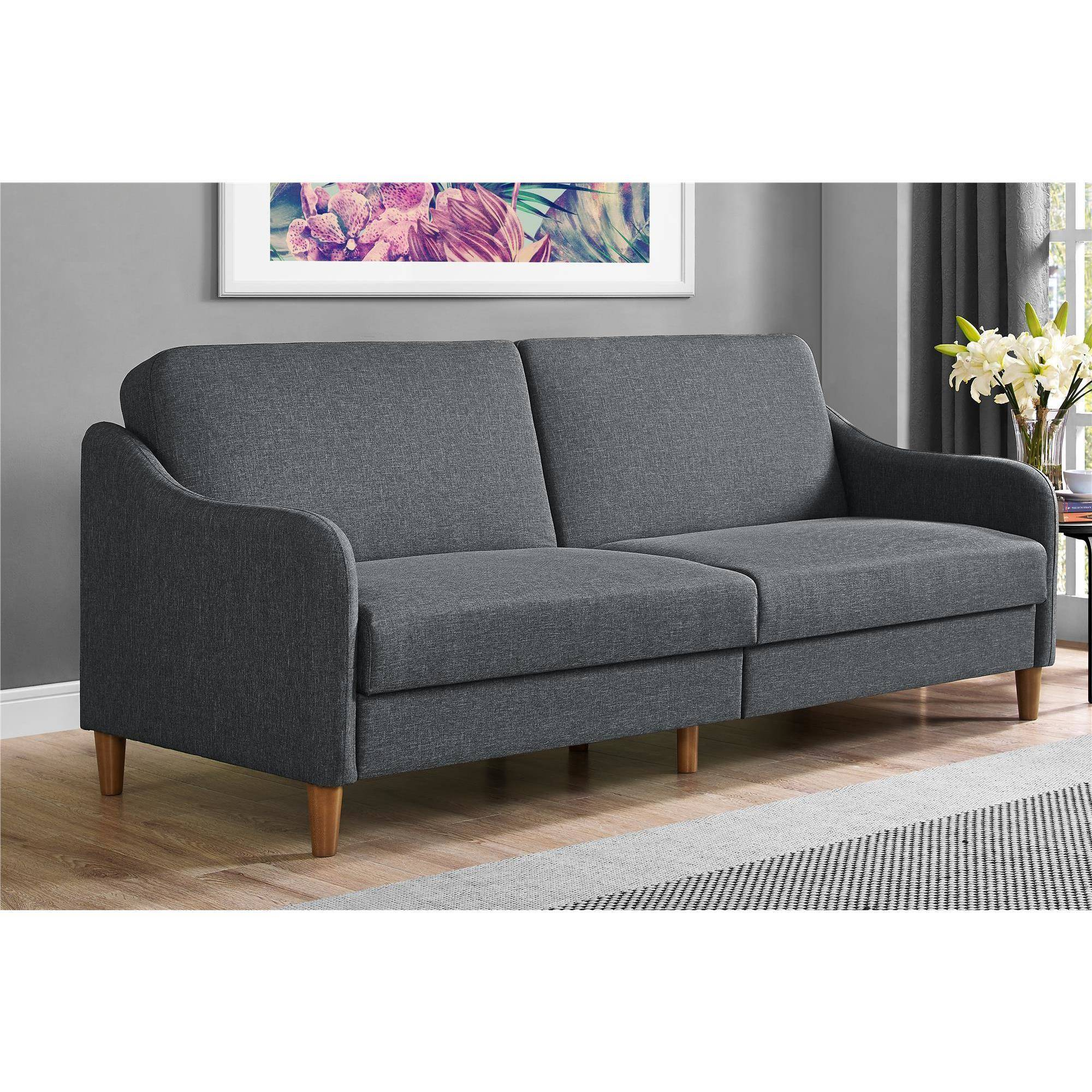 Convertible Sofa Sleeper Futon Upholstery Full Couch Contemporary ...