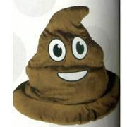 Fake Emoji Poop Hat - Brown