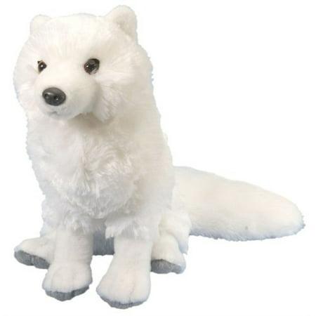 Wild Republic Arctic Fox Plush, Stuffed Animal, Plush Toy, Gifts for Kids, Cuddlekins 12