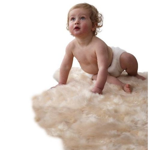 Auskin Lambskin Infant Care