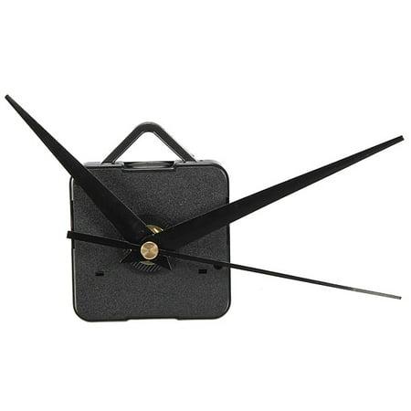 M.Way DIY clock Simple DIY Silent Repair Parts Black Quartz Clock Movement Hand Mechanism Kits Hour Black for DIY Clock Replacement (Black Cloak For Sale)