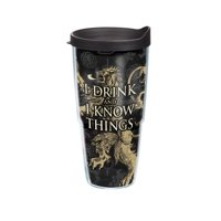 Game of Thrones House Lannister 24 oz Tumbler with lid