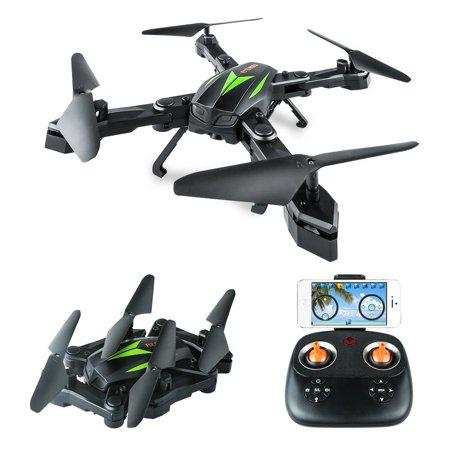 Hold Gyro (AKASO A200 FPV Drone Quadcopter with 720P HD Camera WiFi APP Live Video 6-Axis Gyro 2.4GHz Altitude Hold Foldable Arms RC Drones for Kids Beginners Adults)
