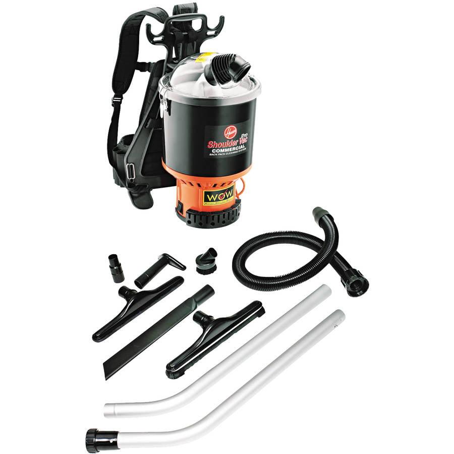 Hoover Shoulder Vac Commercial Back Pack Black Cleaning Vacuum System