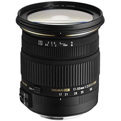 sigma 17-50mm f/2.8 ex dc os hsm fld large aperture standard zoom lens for nikon digital dslr camera - international version (no