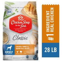 Chicken Soup Adult Dry Dog Food - Chicken, Turkey & Brown Rice Recipe (Various Sizes)