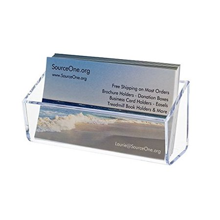 source one magnetic business cardgift card clear holder display s1 magnet - Magnetic Business Card Holder