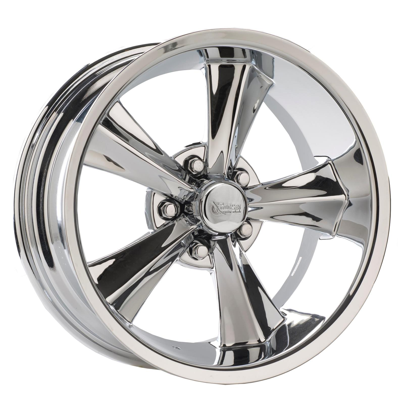 Rocket Racing R14-786545 Booster  17x8 Wheel, 5x4-1/2, 4-1/2 BS