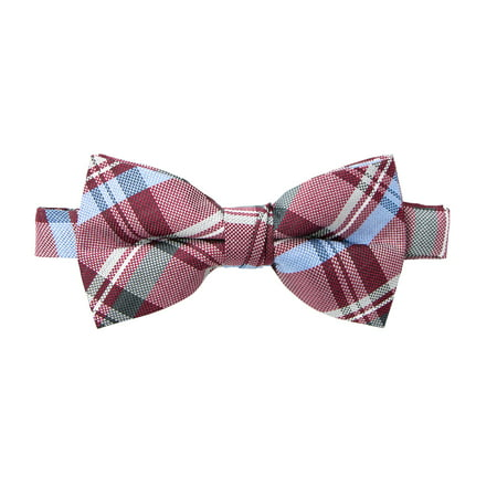 Spring Notion Men's Tartan Plaid Woven Bow -