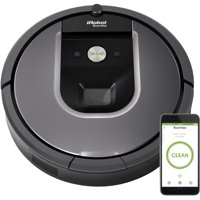 iRobot Roomba 960 Robot Vacuum- Wi-Fi Connected Mapping, Works with Google Home, Ideal for Pet Hair, Carpets, Hard Floors
