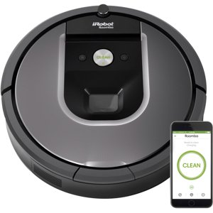 iRobot Roomba 960 Wi-Fi Connected Robot Vacuum w|Manufacturer
