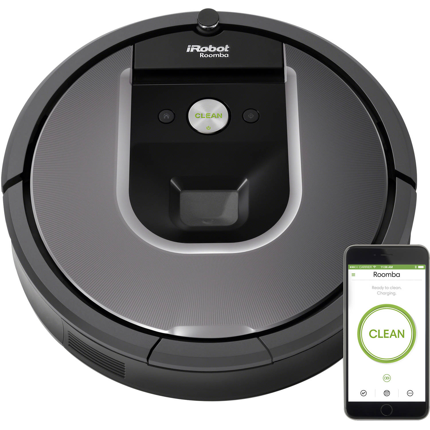 iRobot Roomba 960 Wi-Fi Connected Robot Vacuum w/Manufacturer's Warranty