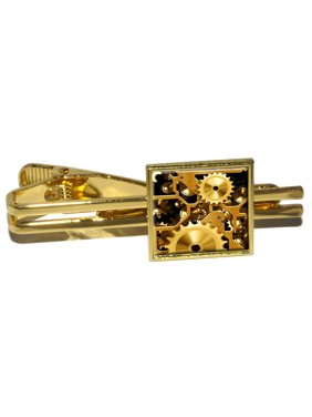 73ba94d63cce Product Image Gears in the Brass Machine Square Tie Clip