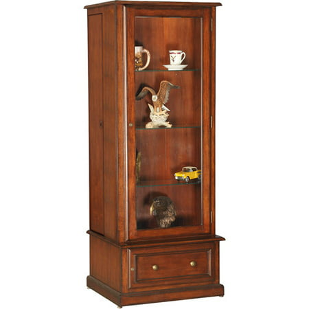 American Furniture Classics 10 Gun Curio Slider Cabinet